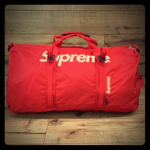 c310d11bef Supreme SS16 Cordura Duffle Bag Nylon 17 18 NWT